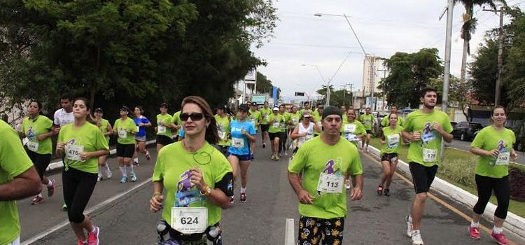 Sucesso de participantes no Circuito Sest/Senat Corrida de Rua.