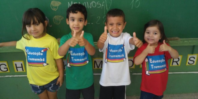 Novos uniformes da Rede Municipal de Ensino torna as escolas mais alegres e coloridas